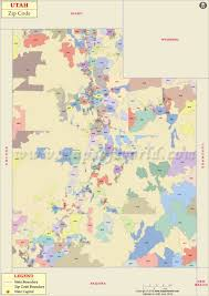 Map Of Idaho And Utah by Utah Zip Code Map Utah Postal Code