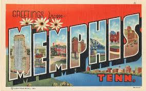 greetings from tenn large letter postcard 11 95