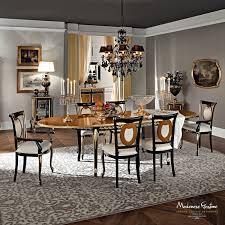 Classic Dining Room Furniture by Classic Dining Table Solid Wood Oval Extending Casanova