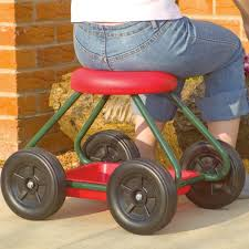 garden stool on wheels buy cheaply online at essential aids uk