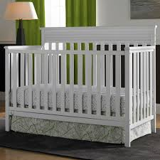 Convertible Cribs Reviews Fisher Price Newbury Convertible Crib In Snow White