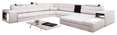 White Italian Leather Sectional Sofa White Italian Leather Sofa Home And Textiles