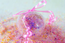 diy recipe for princess bath salts ornaments