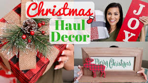 christmas decor haul 2017 hobby lobby u0026 target holiday shopping