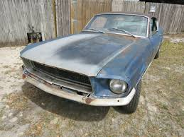 mustang restoration project for sale 1967 mustang fastback 7t02a204493 project car eleanor bulitt for