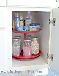 Lazy Susan Under Cabinet 15 Ways To Organize Under The Bathroom Sink