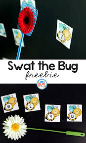 swat the bug learning activity learning activities swat and numbers
