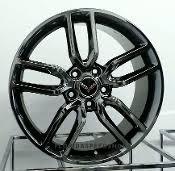 chrome corvette wheels wheels