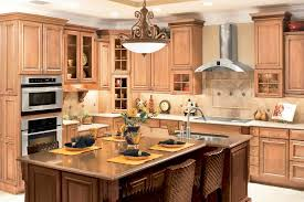 kitchen french country kitchen design with natural maple kitchen