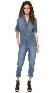 blue mechanic jumpsuit current elliott the mechanic jumpsuit shopbop