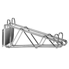 Wall Mount Wire Shelving by Wall Mounted Wire Shelving Brackets And Kits Culinary Depot