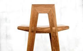 contemporary bar stool oak grable qowood