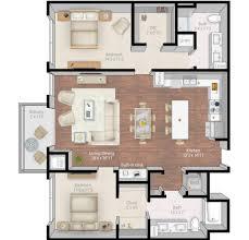 3d apartment floor plans apartment plan floor millmainp2 whitewater 3d staged rev luxury
