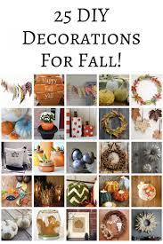 Fall Homemade Decorations - 25 diy decorations for fall mom spark mom blogger