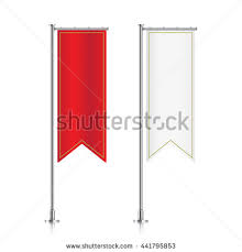 free printable vertical banner template flag mockup banner flag templates set stock vector hd royalty free