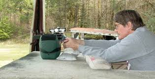 Bench Rest Shooting Rest Shooting A Handgun From A Bench Rest