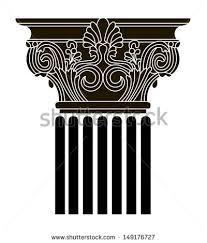 Greek Column Pedestal Black Marble Column Stock Images Royalty Free Images U0026 Vectors