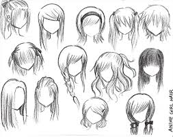 spiky anime hairstyles hairstyle female cute for girls drawn boy spiky hair pencil and in