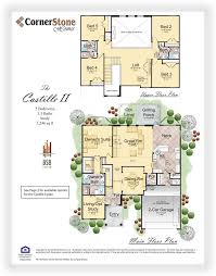 cornerstone homes floor plans palencia st augustine fl homes for sale 32095