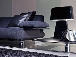 landing steel base luxury leather sofa shop online italy dream