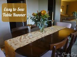 clearwater cottage easy to sew table runner