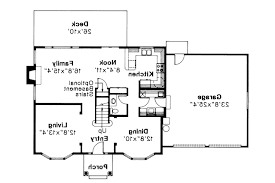 Colonial Floor Plans Good 16 Colonial House Plan Westport 10 155
