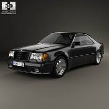 3d class price mercedes e class amg widebody coupe 1988 3d model from
