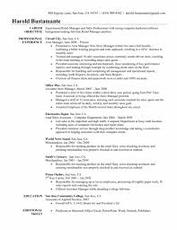 resume objective for promotion order family and consumer science admission paper resume job