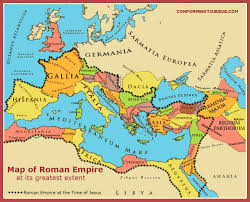 Map Of Time Map Of Roman Empire At The Time Of Jesus U0026 At Its Greatest Extent