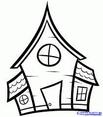 Easy Halloween Drawings Halloween House Drawing U2013 Fun For Halloween