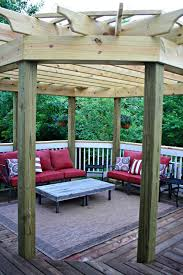 Outdoor Dining Room Our Beautiful Outdoor Dining Room From Thrifty Decor