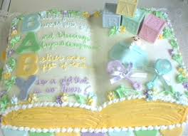simple baby shower cake designs cakes rump unusual pictures
