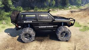 cherokee xj v1 3 rough country black for spin tires