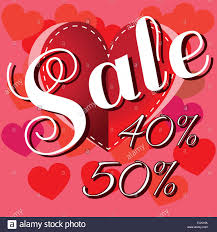 happy valentines day banner happy s day sale banner big heart with stitches and