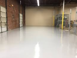 clean and safe resinous epoxy flooring in warehouse fayetteville