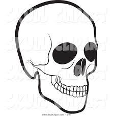 skeleton head clipart 55