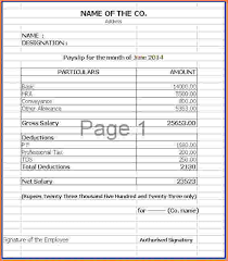 salary receipt template beautiful salary slip in word format pictures resume samples