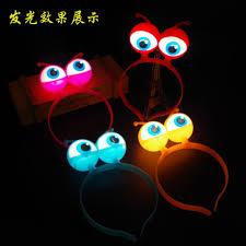 Halloween Eyes Lights Online Buy Wholesale Glow Dark Headbands From China Glow Dark