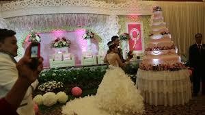 wedding cake bogor mc ing andri vivi wedding at puri begawan bogor