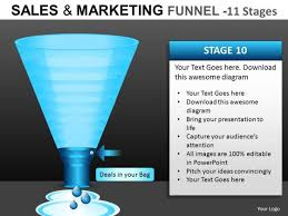 online sales funnel powerpoint templates powerpoint templates