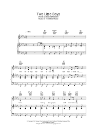 wedding dress chords piano two boys sheet for piano and more