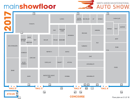floor map of 2017 naias mydetroitautoshow sellers auto group
