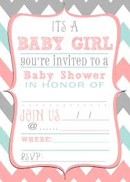 baby shower invitations cool free printable baby shower