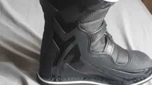 maverik motocross boots fly maverick boots review youtube