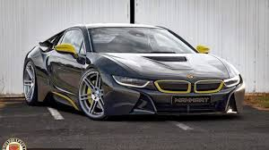Bmw I8 Next Generation - manhart racing previews their tuning program for the bmw i8