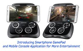mobile console introducing smartphone gamepad and mobile console application for