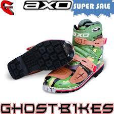 motocross bike boots axo slammer short enduro pit bike atv motocross motorcycle boots