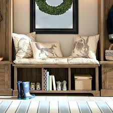 Wood Bench With Storage Plans by Mudroom Bench Storage Plans Entryway Bench Storage Rack Metal