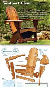 adirondack rocking chair plans outdoor furniture plans