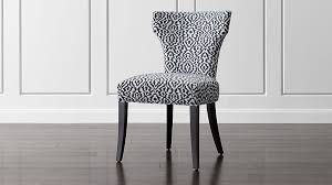 sasha upholstered side chair crate and barrel
